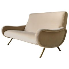 Rare Two-Seat Marco Zanuso Lady Sofa, Arflex, Italy, 1960s