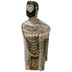 Rare Vase Sculpture- Vase by Coula for Accolay, circa 1960, Unique Piece