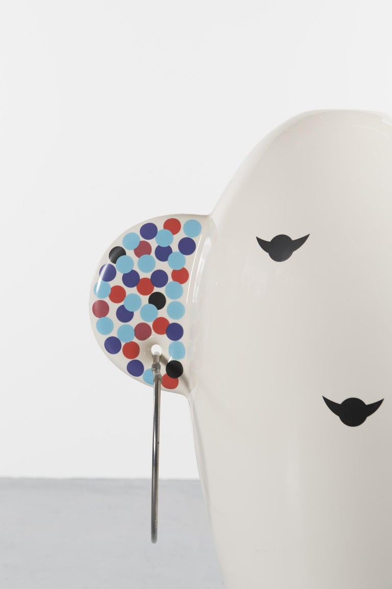 Mid-Century Modern Rare Vaso Viso TOTEM by Alessandro Mendini for Alessi Limited Edition For Sale