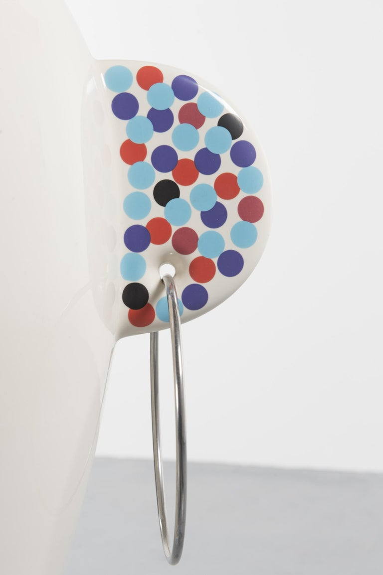 Rare Vaso Viso TOTEM by Alessandro Mendini for Alessi Limited Edition In Excellent Condition For Sale In Villeurbanne, Rhone Alpes