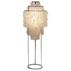 Rare Verner Panton FUN 1 STM Floor Lamp by J. Lüber