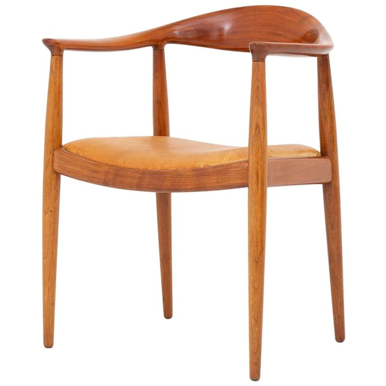 """Rare Version of """"JH 503"""" the Chair by Hans J. Wegner"""