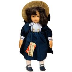 Rare Vintage 1980s Lenci Doll, Serial Number 46