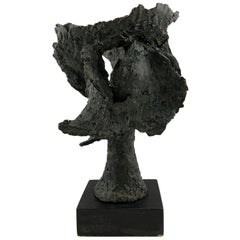 Rare Vintage Bronze Sculpture by Artist John Begg, Signed and Numbered 1 of 1