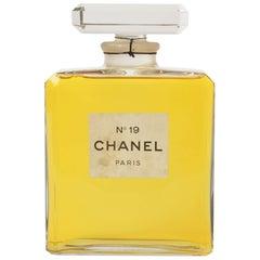 Rare Vintage Chanel No. 19 Factice Dummy Bottle