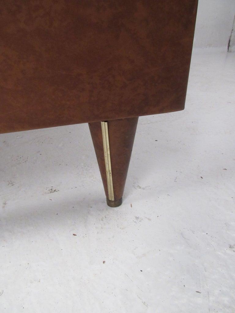 Rare Vintage Modern Italian Desk by Umberto Mascagni For Sale 4