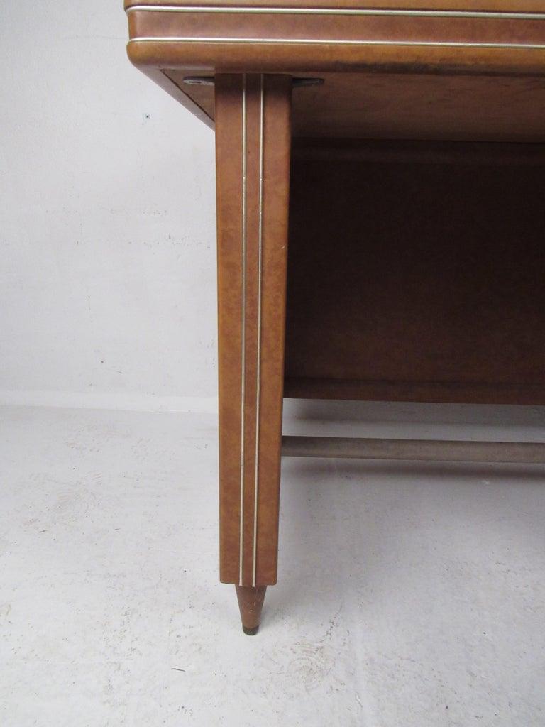 Rare Vintage Modern Italian Desk by Umberto Mascagni For Sale 1