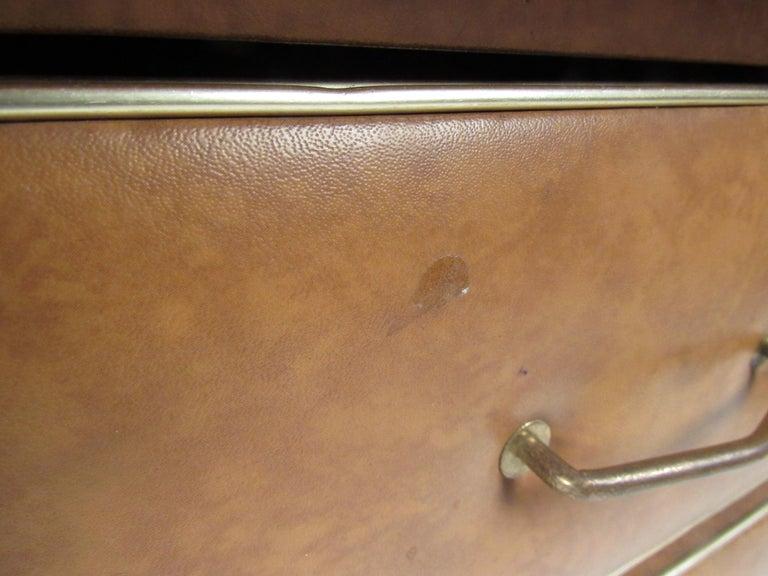 Rare Vintage Modern Italian Desk by Umberto Mascagni For Sale 2