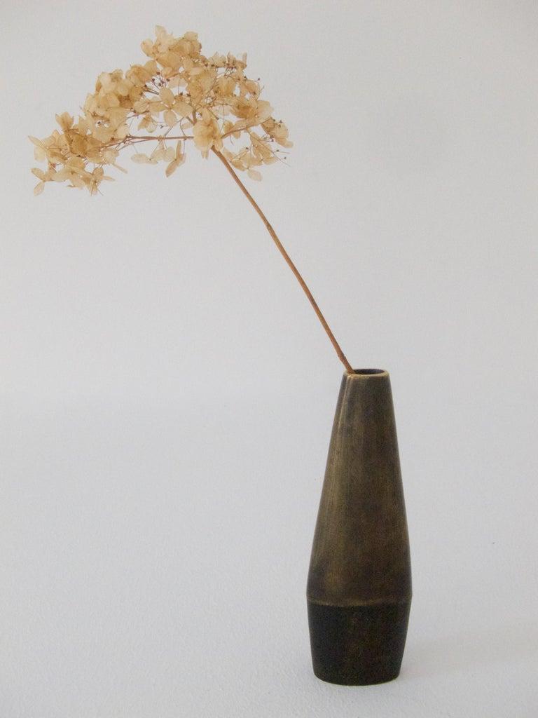 Rare Vintage Vase No 4110 by Carl Auböck For Sale 4