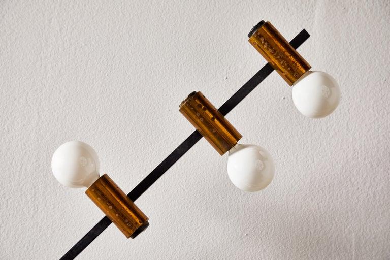 Rare Wall Light by Giampiero Aloi for Stilnovo For Sale 2