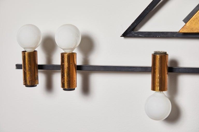 Rare Wall Light by Giampiero Aloi for Stilnovo For Sale 4