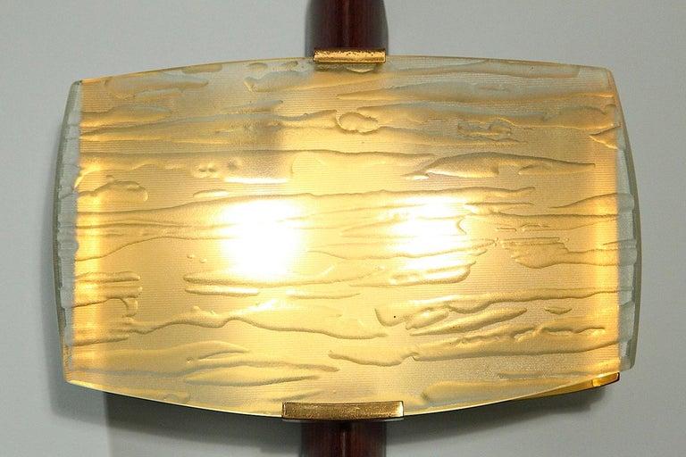 Italian Rare Wall Sconce by Fontana Arte For Sale