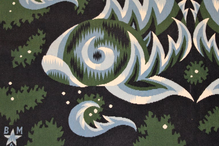 Mid-20th Century Rare Wall Tapestry by Jean Picart le Doux