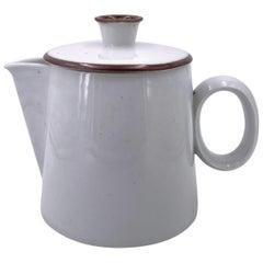 Rare White Porcelain Coffee Pot by Dansk Designs, Denmark