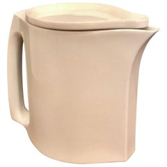 Rare White Porcelain Pitcher by Dansk Designs, Austria