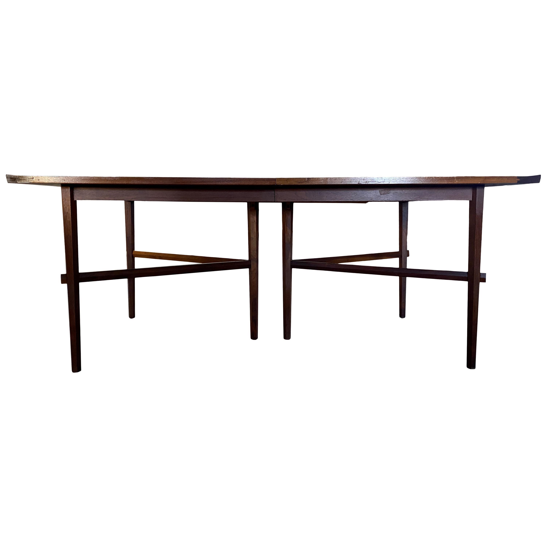 Rare Widdicomb Mueller Walnut Dining Table Attributed to George Nakashima