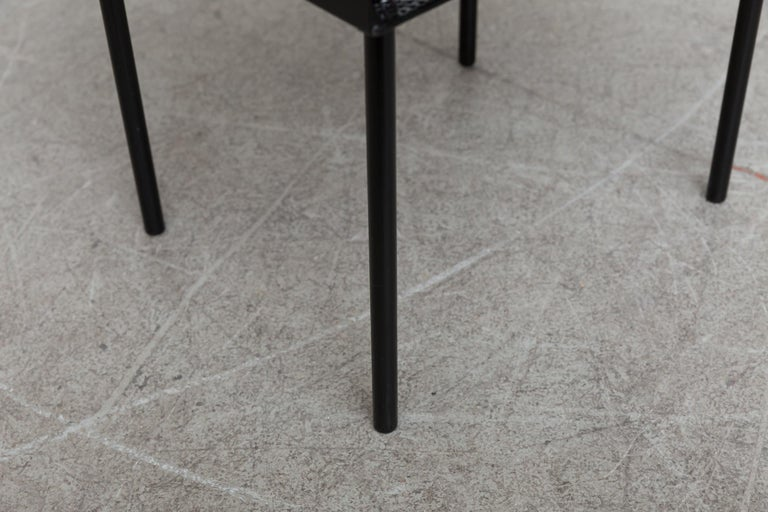 Rare Wim Rietveld for Auping Small Industrial Side Table For Sale 3