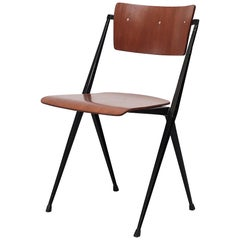 Rare Wim Rietveld Pyramid Stacking Chair