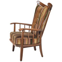 Rare Wood Craft Chair, Germany, 1930s