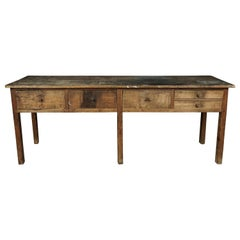 Rare Workshop Console from Italy, circa 1940
