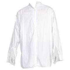 Rare XL Mens Antique Edwardian 1920's Formal Shirt 17, 36