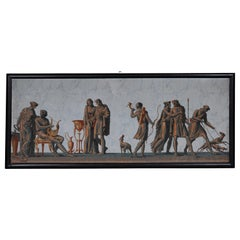 Rare Zuber & Cie Panorama Wallpaper / Painting, circa 1830