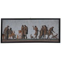 Rare Zuber & Cie Panorama Wallpaper / Painting, circa 1830