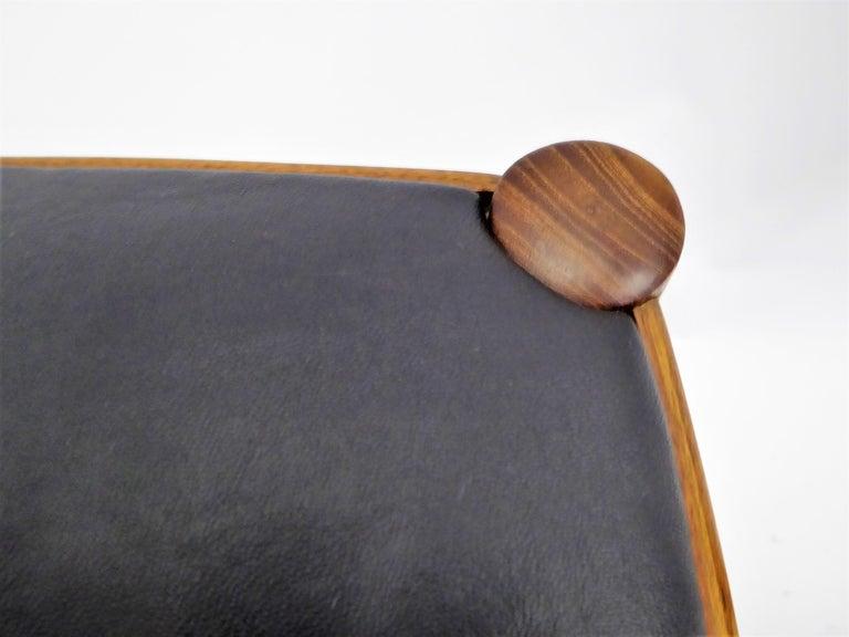 Rarely Seen 1958 Arne Hovmand Olsen Chairs for Mogens Kold, Denmark For Sale 4