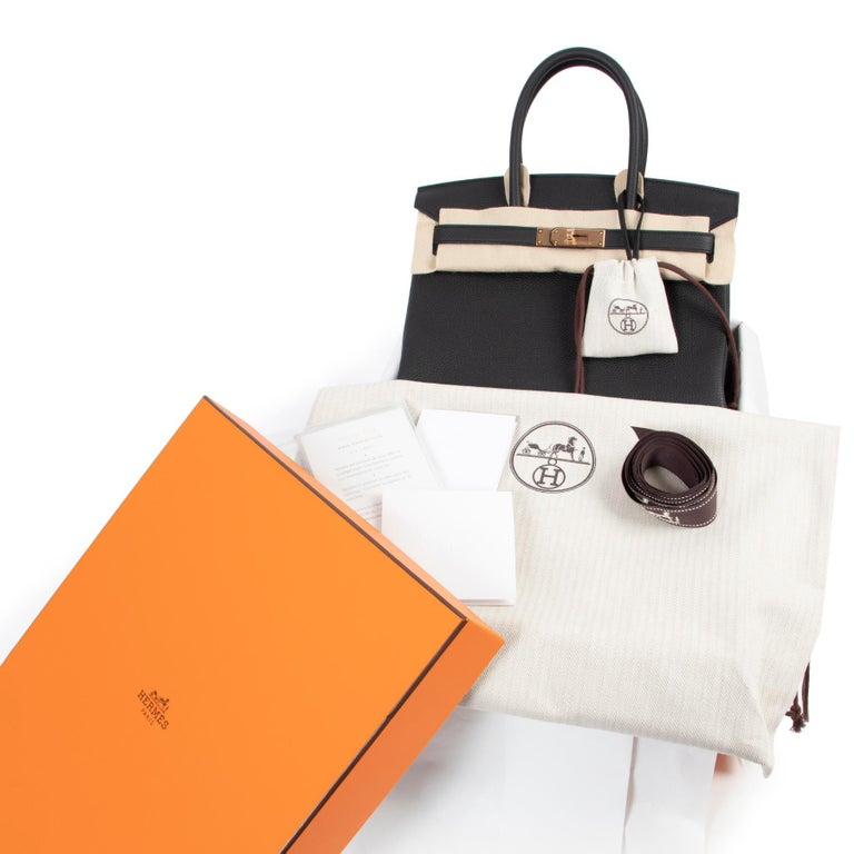 BRAND NEW &EXCLUSIVE  Never Used Hermès Birkin 30 Black Togo RHW  Skip the waitinglist and get this beauty right now! This Birkin bag in timeless Black is one to have and to hold! The very hard to find rose hardware emphasizes the timeless and