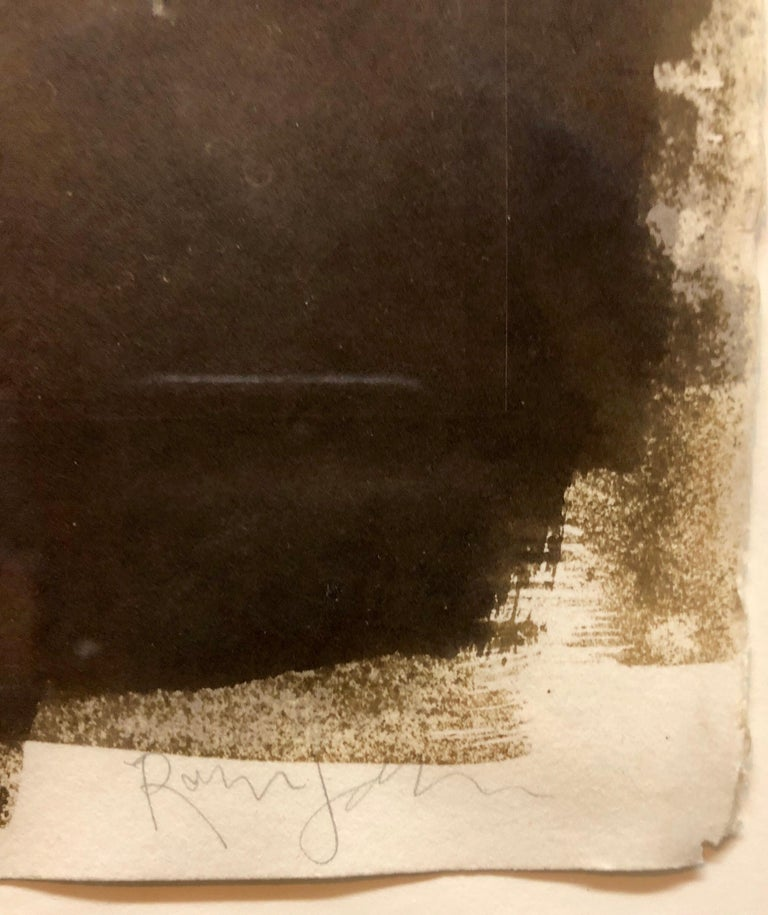 Large Photograph George (Seeing in the Dark Series) Van Dyke Brown Photo Print For Sale 1