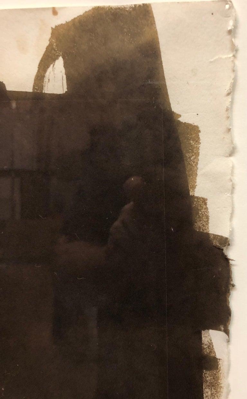 Large Photograph George (Seeing in the Dark Series) Van Dyke Brown Photo Print For Sale 3