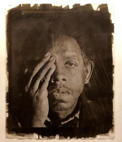 Large Photograph George (Seeing in the Dark Series) Van Dyke Brown Photo Print
