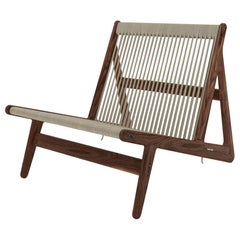 Rasmussen MR01 Initial Chair in Walnut for Gubi