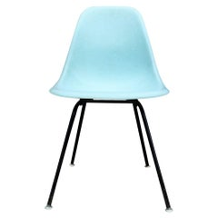 Rare Herman Miller Eames DSX Dining Chair in Robin's Egg Blue
