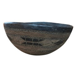 Rather Large Early 20th Century Tuareg Bowl