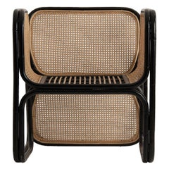 Rattan and Wicker Armchair