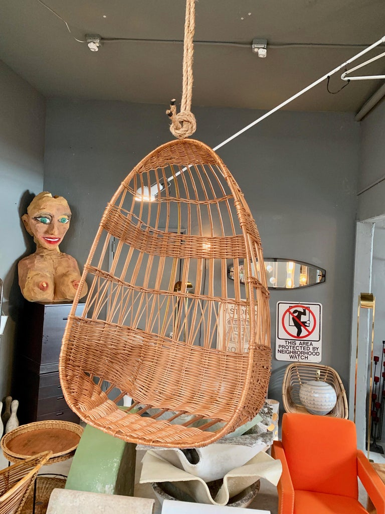 rattan hanging chair sale