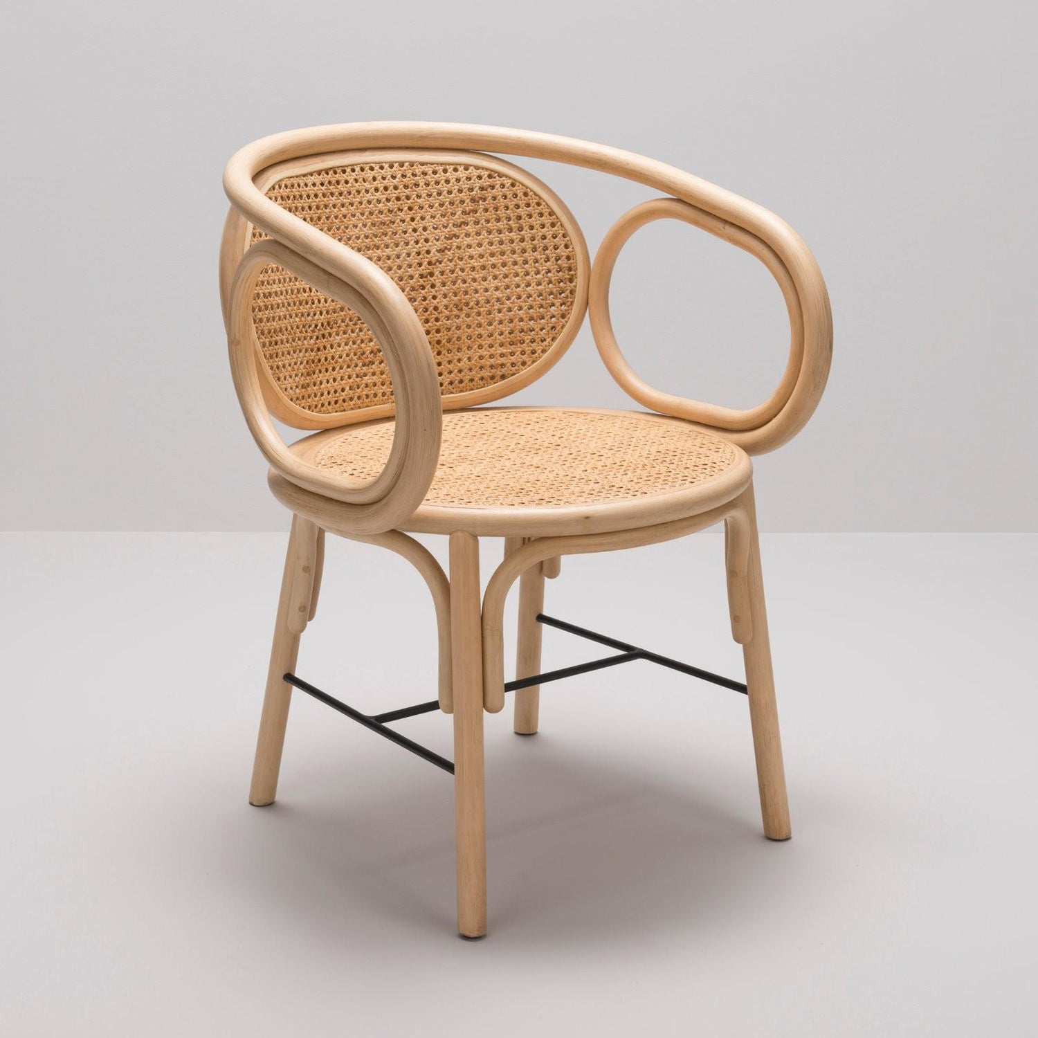 Modern Design Fauteuil.Rattan And Woven Cane Armchair French Modern Design For Sale At