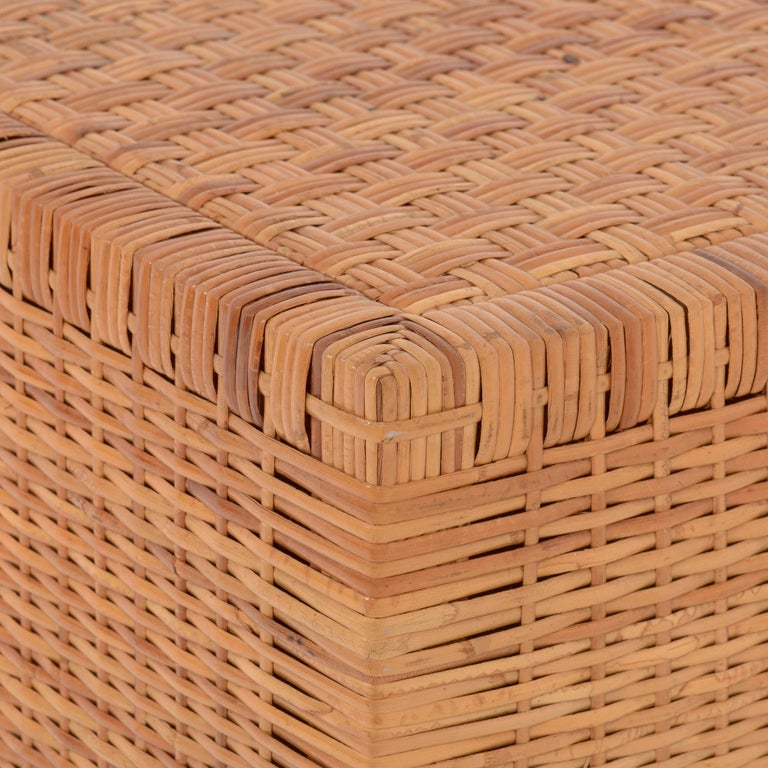 Rattan Chest of Drawers For Sale 6