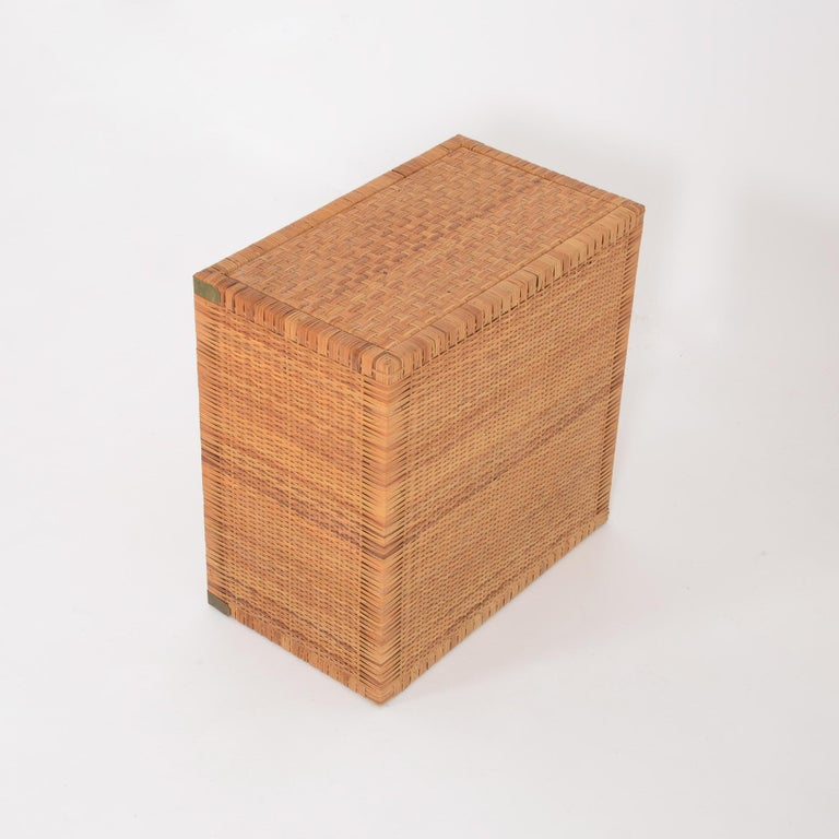 Rattan Chest of Drawers For Sale 7