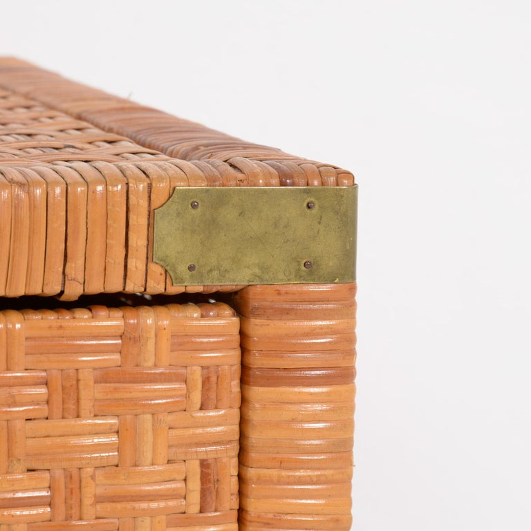Rattan Chest of Drawers For Sale 1
