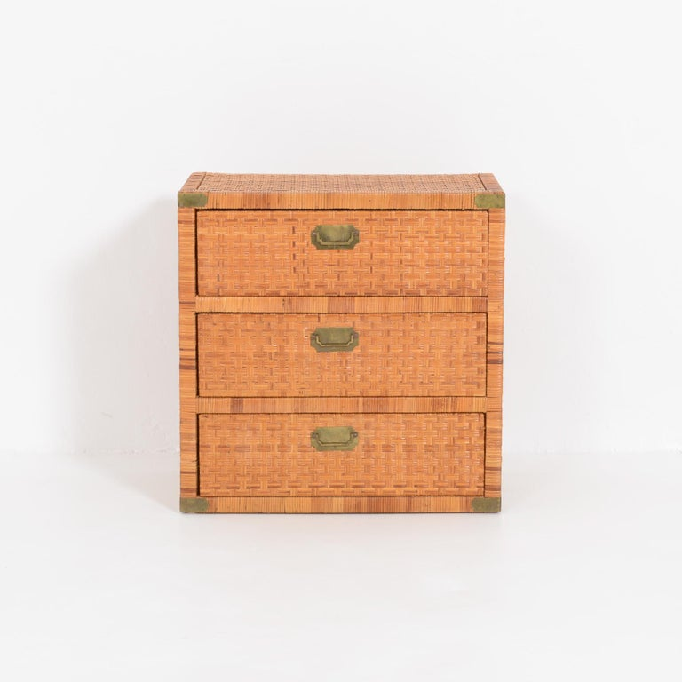 Rattan Chest of Drawers For Sale 2