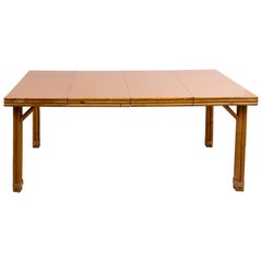 Rattan Extension Dining Table