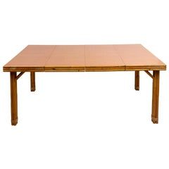 Rattan Extention Dining Table
