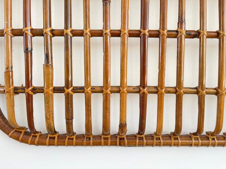Rattan Wall Coat Rack For Sale 3