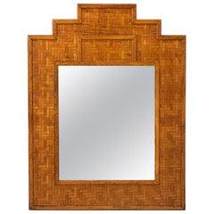Rattan Wall Mirror