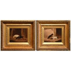 """""""Ratting"""" Pair by Circle of James Ward"""