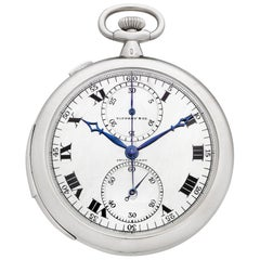Rattrapante Chronograph Watch by Touchon & Co. for Tiffany & Co.