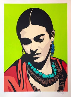 Young Frida (green)