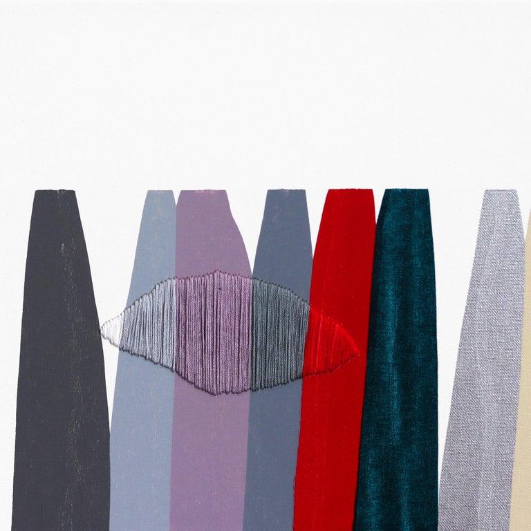 Fils I Colors CCXLVI - Contemporary Painting by Raul de la Torre